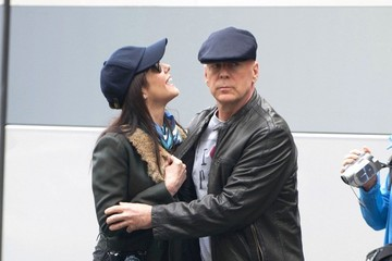 Mary-Louise Parker Bruce Willis Stars Film 'Red 2' in Paris