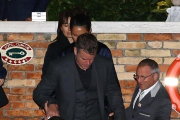 Matt Damon Amal Alamuddin at Her Rehearsal Dinner