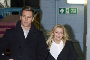 Matt Evers Suzanne Shaw and Matt Evers at the ITV Studios — Part 2