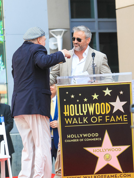 Matt LeBlanc Outside Stacey Keach Hollywood Walk Of Fame Star Ceremony