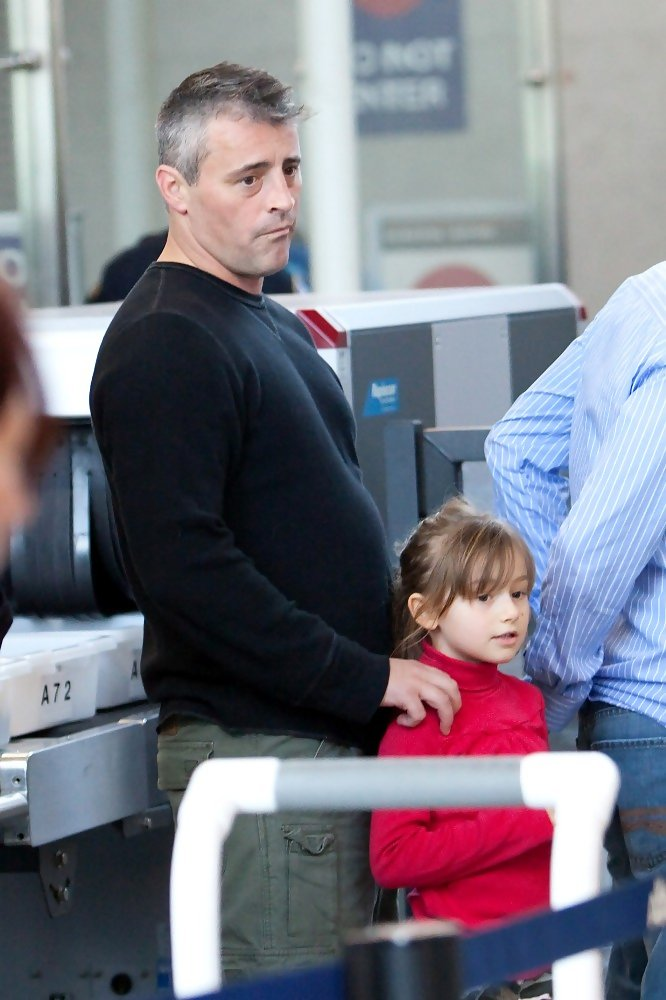 Matt LeBlanc in Matt LeBlanc at LAX - Zimbio