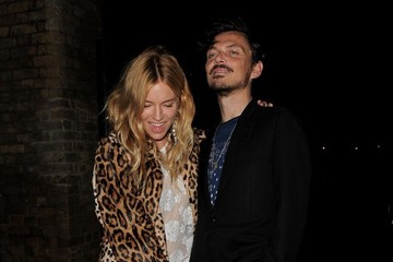Matthew Williamson Sienna Miller and Matthew Williamson Out in London