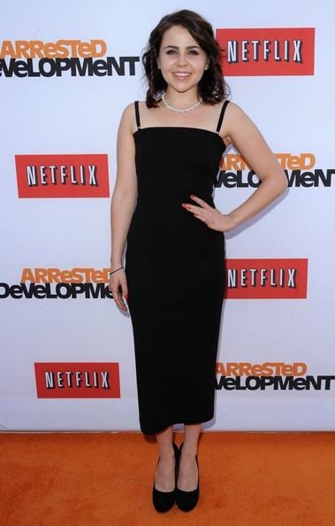 May Whitman Photos Photos Arrested Development Premieres In