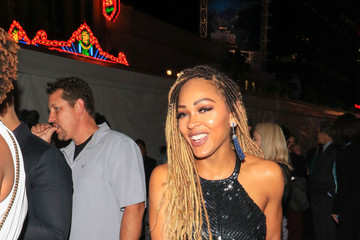 Meagan Good Meagan Good Outside Black Panther Premiere at Dolby Theatre