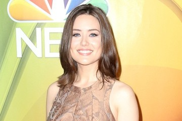Megan Boone NBC Upfront Presentation - Red Carpet