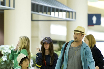 Kassius Green Megan Fox and Family Return Home