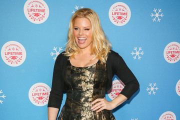 Megan Hilty The Stars Of Lifetime's Christmas Movies Celebrate The Opening Night Of The Life-Sized Gingerbread House Experience At The Grove