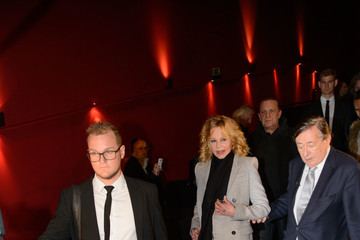 Melanie Griffith Melanie Griffith Hits the 2018 Vienna Opera Ball Press Conference at Lugner Kino