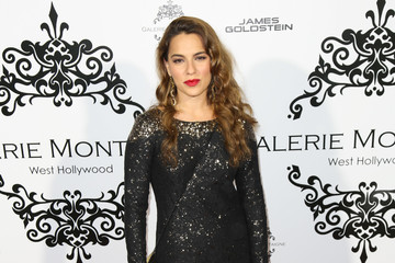 Melia Kreiling Celebs Attend the Opening of Galerie Montaigne