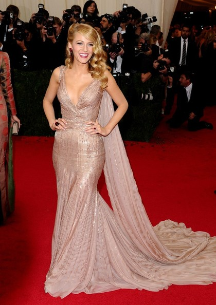 Blake Lively in Red Carpet Arrivals at the Met Gala — Part ...