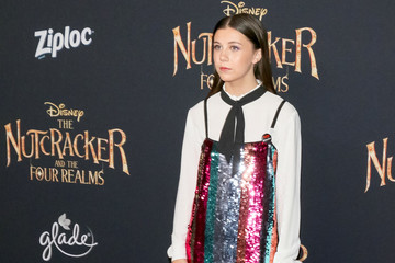 Mia Sinclair Jenness Premiere Of Disney's 'The Nutcracker And The Four Realms'