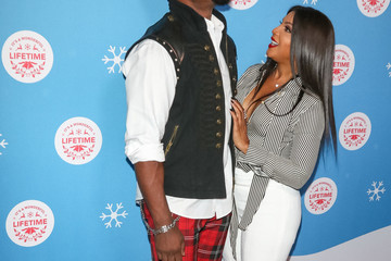Michael Jai White The Stars Of Lifetime's Christmas Movies Celebrate The Opening Night Of The Life-Sized Gingerbread House Experience At The Grove