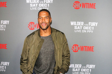 Michael Strahan Tyson Fury At 'Fury vs. Wilder' Fight At The Staples Center