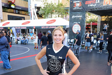 Michelle Beadle Celebrities Attend the 8th Annual Nike Basketball 3ON3 Tournament at Microsoft Square