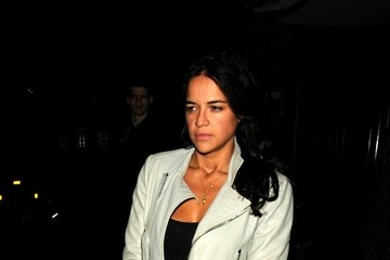 Michelle Rodriguez Celebs Spotted at Chiltern Firehouse — Part 2