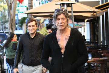 Mickey Rourke Mickey Rourke Is Seen After Lunch at Sunset Plaza