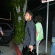 Miguel Miguel And Nazanin Mandi Outside The Nice Guy Nightclub In West Hollywood