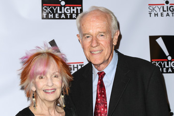 Mike Farrell Celebrities Arrive at Skylight Theatre Complex