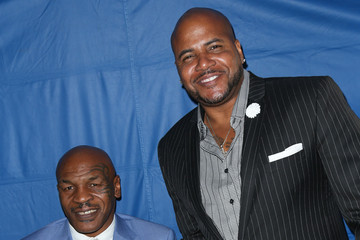 Mike Tyson Celebrities Attends the Hollywood Walk of Fame Honors at Taglyan Complex