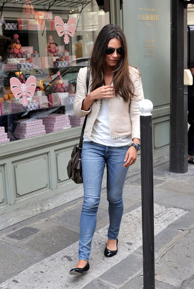 Mila Kunis spends a day shopping with stops at Chanel, Isabel Marant, Givenchy, and Celine.