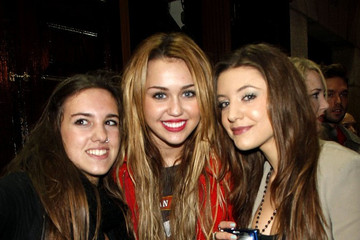 Miley Cyrus Miley Cyrus Out with Friends