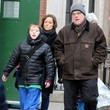Mimi O'Donnell Philip Seymour Hoffman Out with His Family