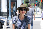 Minnie Driver Covers Up in Beverly Hills