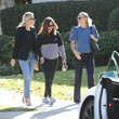 Molly Simms Jennifer Garner Out And About