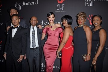Monica Braithwaite Rihanna's First Annual Diamond Ball