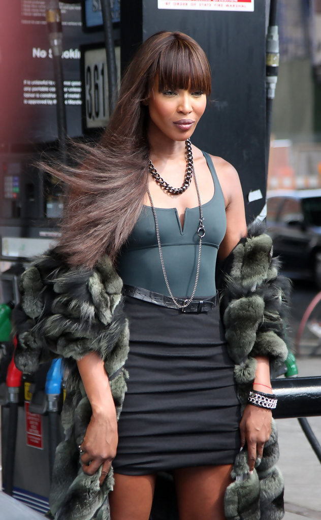 Mercedes Benz Latest Models >> Naomi Campbell at a Photoshoot in the Meatpacking District - Zimbio