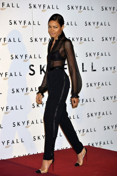 "Naomie Harris - Daniel Craig and Naomie Harris at the ""Skyfall"" Photocall"