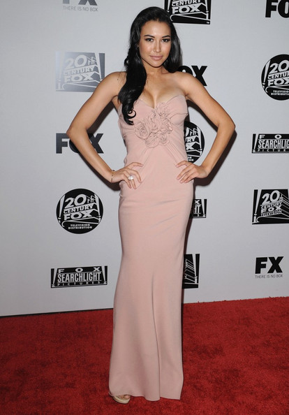 Naya Rivera Fox Searchlight 2011 Golden Globe Awards Party.