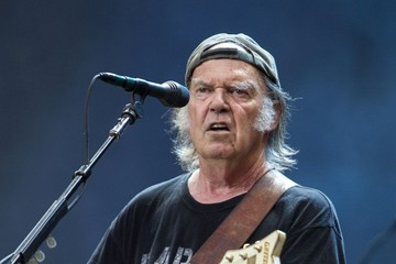 Neil Young Neil Young Performs in Hyde Park