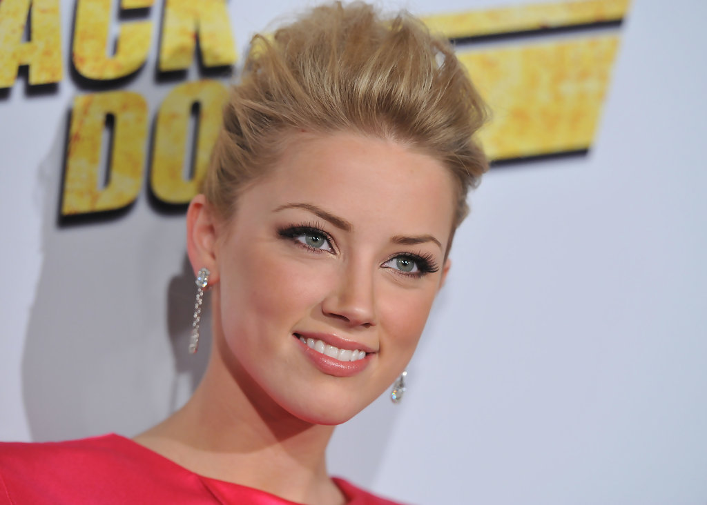 Amber heard never back down