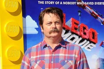 "Nick Offerman ""The Lego Movie"" Premiere"