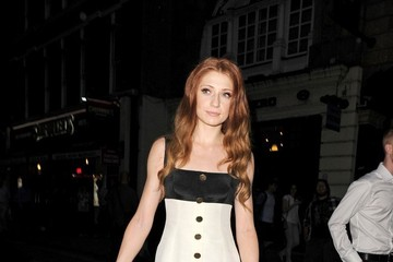 Nicola Roberts Cheryl Cole and Her Husband Throw an Engagement Party
