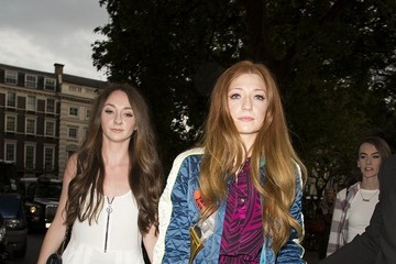 Nicola Roberts LFW 2014: Stars at the Henry Holland Show