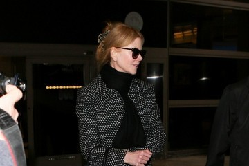 Nicole Kidman Nicole Kidman Arrives at LAX