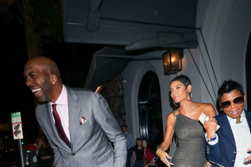 Nicole Murphy John Salley And Nicole Murphy Dine Out At Craig's Restaurant
