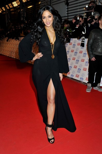 Nicole Scherzinger - National Television Awards - Red Carpet