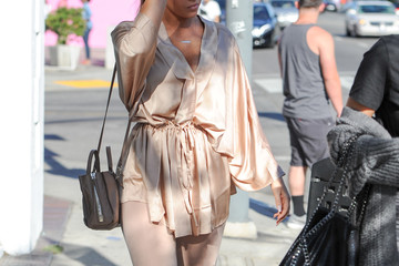 Nicole Williams Nicole Williams and Olivia Pierson Spotted Out In Los Angeles