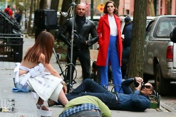 Nigel Barker 'The Face' Films in NYC
