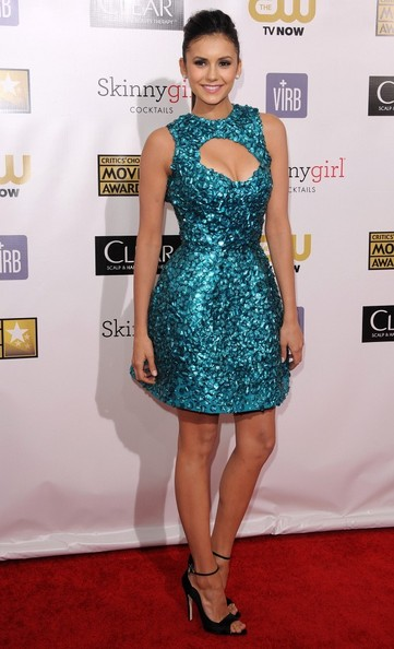 Nina Dobrev - 18th Annual Critics' Choice Movie Awards