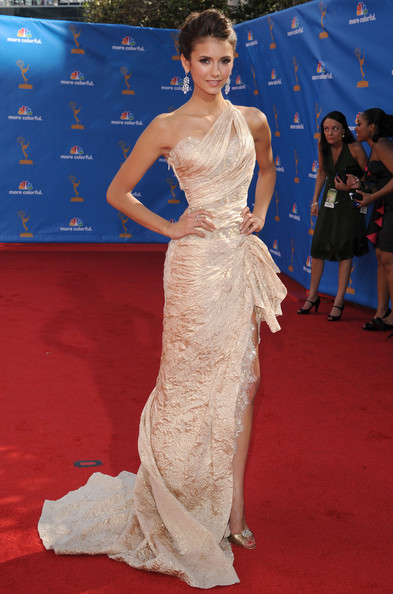 Nina Dobrev 62nd Annual Primetime Emmy Awards.Nokia Theatre L.A. Live, Los Angeles, CA.August 29, 2010.