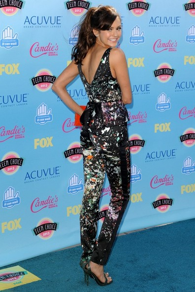Nina Dobrev - Arrivals at the Teen Choice Awards