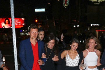 Nina Dobrev Orlando Bloom and Nina Dobrev Hit the TCL Chinese Theatre in Hollywood