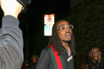 Offset Offset Outside 'Poppy' Nightclub In West Hollywood