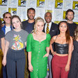 Olivia Taylor Dudley 2019 Comic-Con International - 'The Magicians' Photo Call