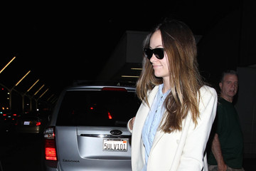 Olivia Wilde Olivia Wilde Is Seen at LAX