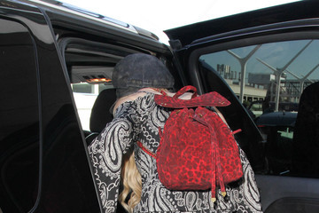 Orianthi Orianthi Is Seen at LAX